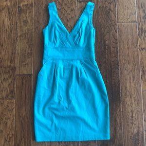 Express Design Studio turquoise dress
